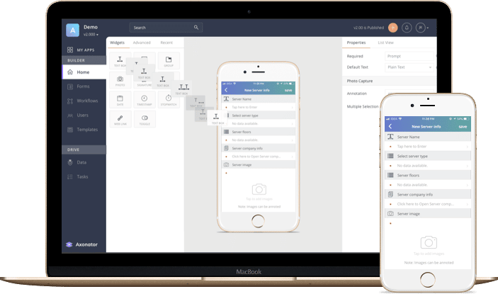 Build Mobile Forms Quickly
